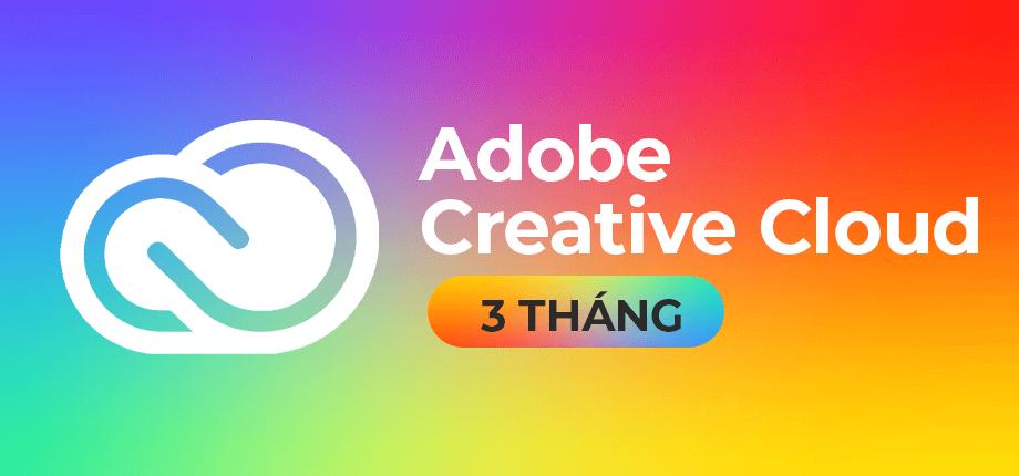 Adobe Creative Cloud 3 Thang