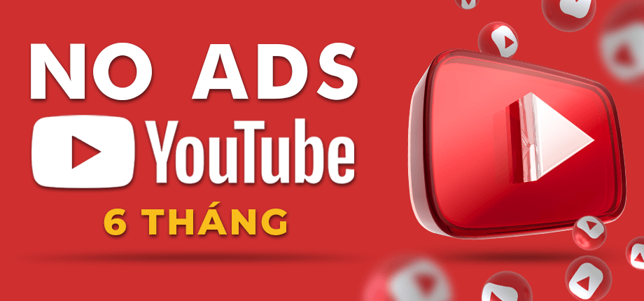 Youtube No Ads 6 Thang