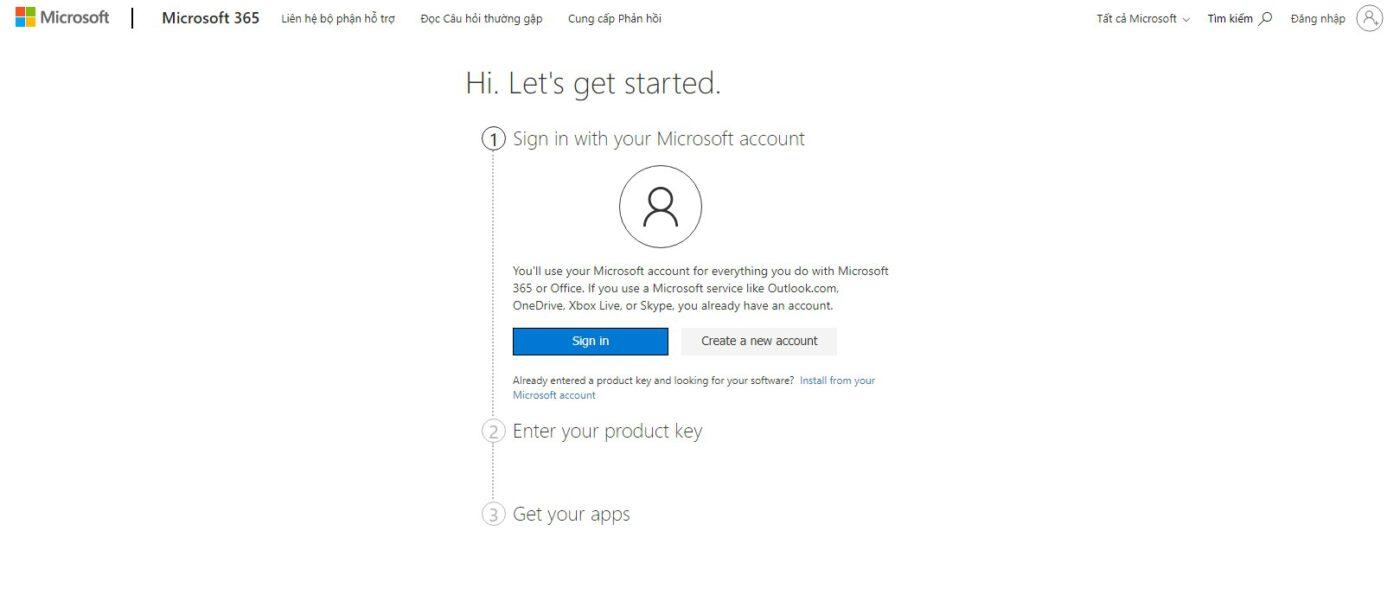 Hướng dẫn kích hoạt Microsoft 365 Personal và Microsoft Family (trước đây là office 365)