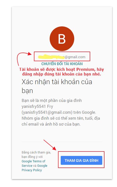 Hướng dẫn kích hoạt tài khoản Youtube Premium